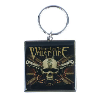 kľúčenka (prívesok) Bullet For My Valentine, NNM, Bullet For my Valentine