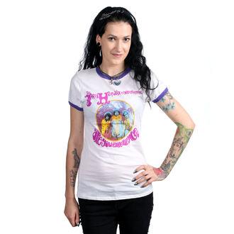 tričko dámske JIMI HENDRIX - AYE - RINGER - BRAVADO, BRAVADO, Jimi Hendrix