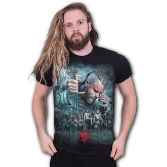 tričko pánske SPIRAL - Vikingovia - BATTLE, SPIRAL