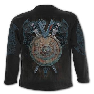 tričko pánske s dlhým rukávom SPIRAL - Vikingovia - BATTLE, SPIRAL