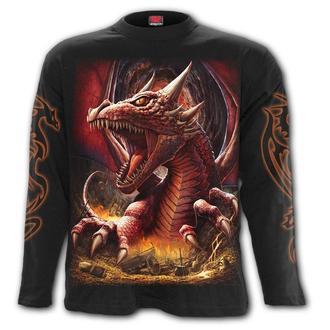 tričko pánske s dlhým rukávom SPIRAL - AWAKE THE DRAGON, SPIRAL