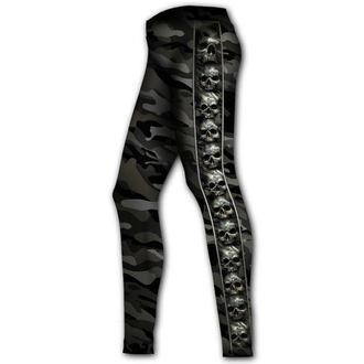 nohavice dámske (legíny) SPIRAL - CAMO-SKULL, SPIRAL