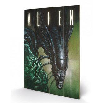 drevený obraz Alien - Vetřelec - (Creep) - PYRAMID POSTERS, PYRAMID POSTERS, Alien - Vetřelec