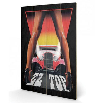 drevený obraz ZZ Top - (&&string0&&) - PYRAMID POSTERS, PYRAMID POSTERS, ZZ-Top