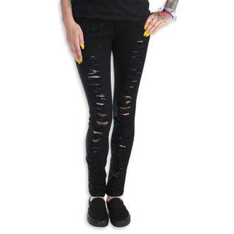 nohavice dámske (jeans) PUNK RAVE - Destroyer, PUNK RAVE