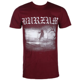 tričko pánske BURZUM - Askey 2013 (MAROON) - PLASTIC HEAD, PLASTIC HEAD, Burzum