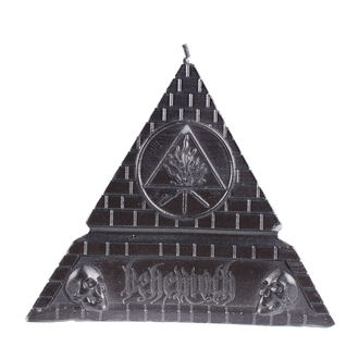 sviečka BEHEMOTH - UNHOLY TRINITY PYRAMID - BLACK - PLASTIC HEAD, PLASTIC HEAD, Behemoth