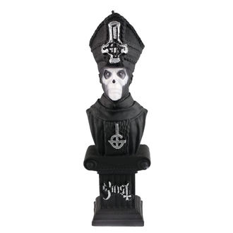 sviečka GHOST - PAPA EMERITUS - BLACK MATT - PLASTIC HEAD, PLASTIC HEAD, Ghost