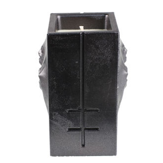 sviečka MARILYN MANSON - BLACK METALLIC - PLASTIC HEAD, PLASTIC HEAD, Marilyn Manson