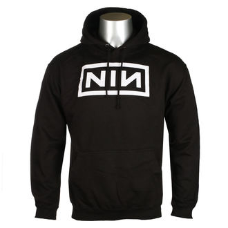 mikina pánska NINE INCH NAILS - CLASSIC WHITE LOGO - PLASTIC HEAD, PLASTIC HEAD, Nine Inch Nails