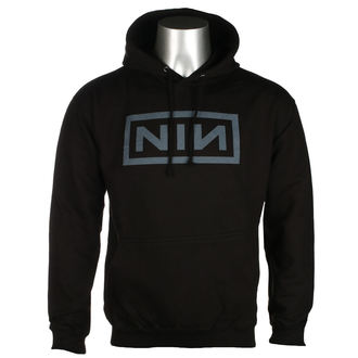 mikina pánska NINE INCH NAILS - CLASSIC GREY LOGO - PLASTIC HEAD, PLASTIC HEAD, Nine Inch Nails