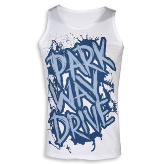 tielko pánske Parkway Drive - Blue Logo - White - KINGS ROAD, KINGS ROAD, Parkway Drive