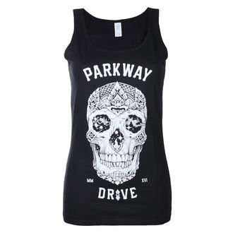 tielko dámske Parkway Drive - Skull - Black - KINGS ROAD, KINGS ROAD, Parkway Drive