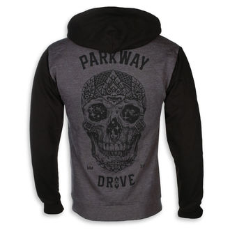 mikina pánska Parkway Drive - Skull - Charcoal Grey - KINGS ROAD, KINGS ROAD, Parkway Drive