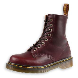 topánky Dr. Martens - 8 dierkové - Burgundy - 1460 Pascal, Dr. Martens