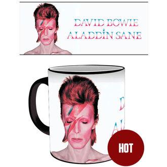 hrnček s termoaktivními potlačou David Bowie - GB posters, GB posters, David Bowie
