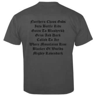 tričko pánske IMMORTAL - Chaos GREY - NUCLEAR BLAST, NUCLEAR BLAST, Immortal