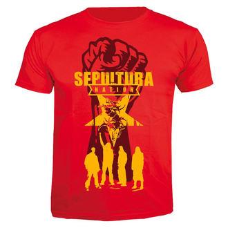 tričko pánske SEPULTURA - Nation - 30 rokov anniversary - NUCLEAR BLAST, NUCLEAR BLAST, Sepultura
