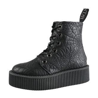 topánky dámske KILLSTAR - Coffin Creeper - BLACK, KILLSTAR