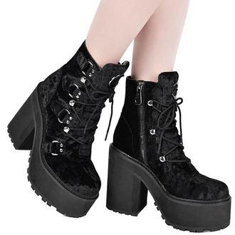 topánky dámske KILLSTAR - Broom Rider - Velvet