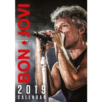 kalendár na rok 2019 BON JOVI, NNM, Bon Jovi