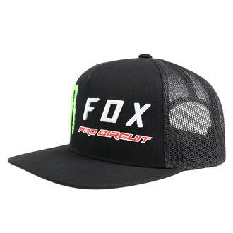šiltovka FOX - Monster - Black, FOX