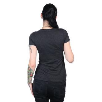 tričko dámske METAL MULISHA - HELMET SCOOP - BLK, METAL MULISHA