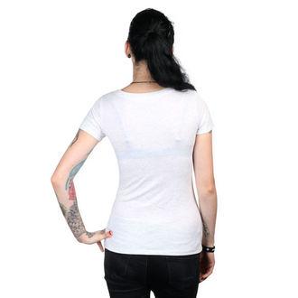 tričko dámske METAL MULISHA - HELMET - WHT, METAL MULISHA