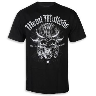 tričko pánske METAL MULISHA - WARHAMMER BLK, METAL MULISHA