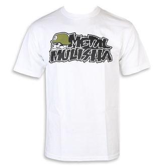 tričko pánske METAL MULISHA - IKON WHT, METAL MULISHA