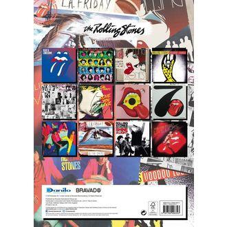 kalendár na rok 2019 - ROLLING STONES, Rolling Stones