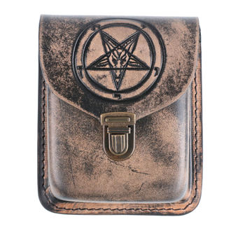 vrecko na opasok Baphomet, Leather & Steel Fashion