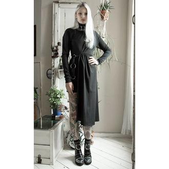 šaty dámske DISTURBIA - Asymmetric Drape, DISTURBIA