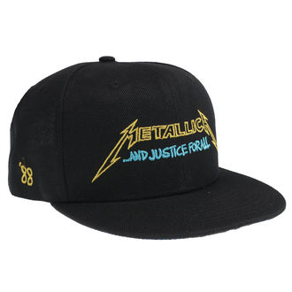 šiltovka Metallica - Justice Bright Starter - Black, NNM, Metallica