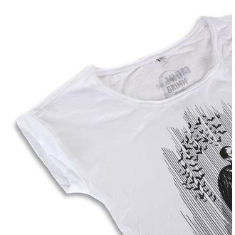 tričko dámske GRIMM DESIGNS - DRACULA WHITE