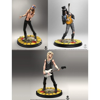 figúrky (set) Guns N' Roses - Band - Rock Iconz, KNUCKLEBONZ, Guns N' Roses