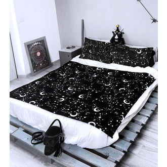 (deka) paplón cez posteľ KILLSTAR - Starmap - BLACK, KILLSTAR