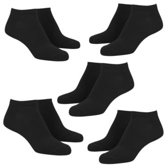 ponožky (set 5 párov) URBAN CLASSICS - No Show, URBAN CLASSICS