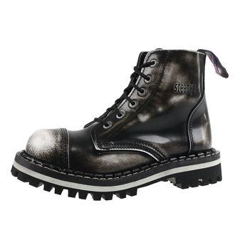 topánky STEADY´S - 6 dierkové - White black, STEADY´S