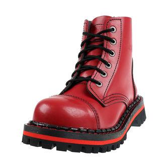 topánky STEADY´S - 6 dierkové - Red, STEADY´S