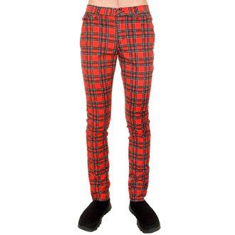 nohavice (unisex) 3RDAND56th - Tartan Skinny Jeans - Ud Tartan, 3RDAND56th