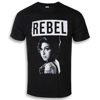 tričko pánske Amy Winehouse - Rebel - ROCK OFF, ROCK OFF, Amy Winehouse