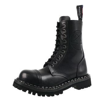 topánky STEADY´S - 10 dierkové - Pentagram black, STEADY´S
