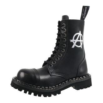 topánky STEADY´S - 10 dierkové - Anarchy white, STEADY´S