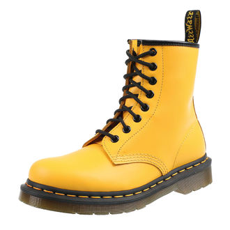 topánky DR.MARTENS - 8 dierkové - SMOOTH - YELLOW, Dr. Martens