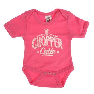 body detské WEST COAST CHOPPERS - ONESIE CHOPPER CUTIE BABY CREEPER - Rose, West Coast Choppers