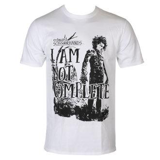 tričko pánske Střihoruký Edward - I Am Not Complete - White - HYBRIS, HYBRIS, Střihoruký Edward