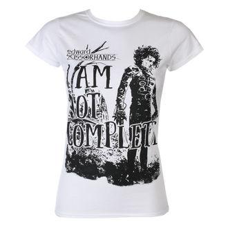 tričko dámske Střihoruký Edward - I Am Not Complete - White - HYBRIS, HYBRIS, Střihoruký Edward