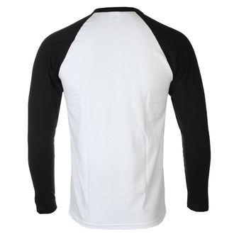 tričko pánske s dlhým rukávom Rocky Balboa - It Ain´t Over - White / Black - HYBRIS, HYBRIS, Rocky