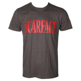 tričko pánske Scarface - Logo - D.Grey - HYBRIS, HYBRIS